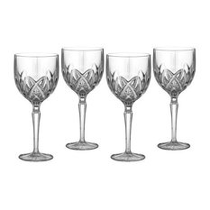 Reed   Barton - Marquis by Waterford Brookside 8-Ounce White Wine Glass, Set of 4 - Wine Glasses