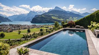 RENOLIT ALKORPLAN TOUCH Elegance Schwimmbad, Brunnen (Schweiz)