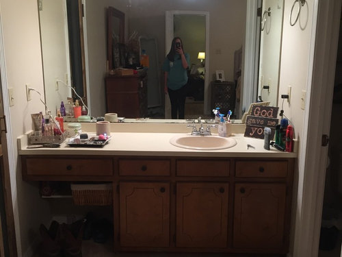 Bathroom Vanity In Bedroom