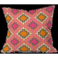 Sharon Turner Tangerine Kilim Outdoor Throw Pillow