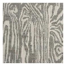 Nootka Stunning Zebra Print Design Upholstery Fabric, Otter