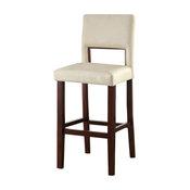 Reiko Bar Chair, White