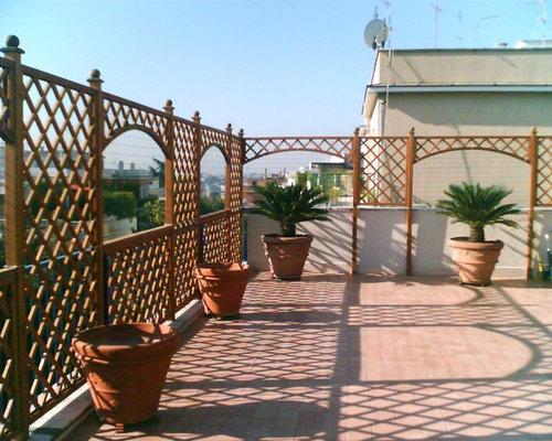Griglie in legno per terrazzo - Legno per terrazzo ...