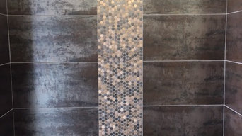 Copper Metal Porcelain Tile