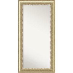 "Wall Mirror,, Astoria Champagne Wood, 29""x57"""