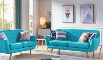 4 Purse-Friendly Living Room Trends
