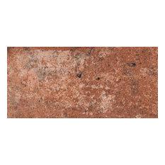 "MSI NCAPBRI5X10 Capella, 5""x10"" Rectangle Floor Tile, Matte, Red"