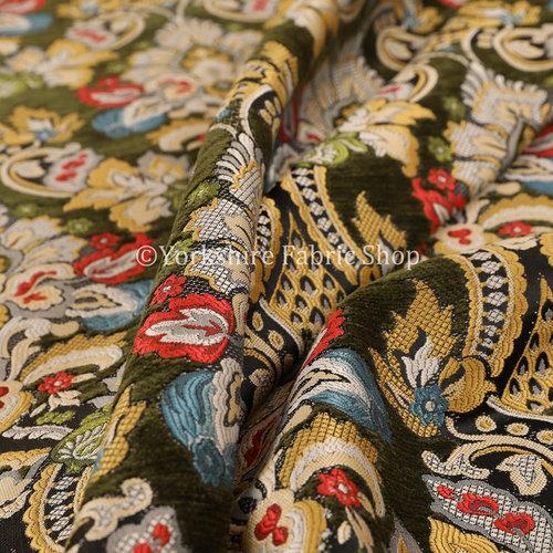 Komkotar Damask Fabric - Curtain Fabric