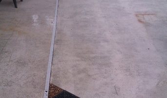 French Drains by a pool deck
