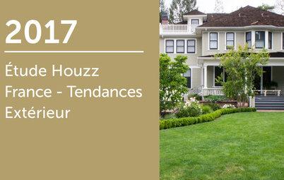 Étude Houzz France : Tendances Extérieur 2017