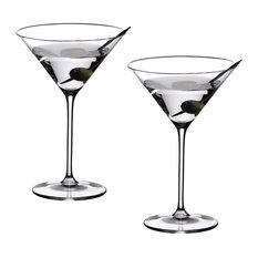 Riedel Vinum XL Martini Glasses, Set of 2