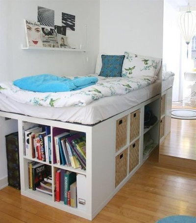 7 coole ikea hacks f r ihr kallax regal. Black Bedroom Furniture Sets. Home Design Ideas