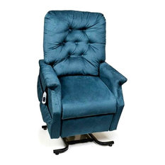 UltraComfort UC214 2-Position Power Lift Chair, Cornflower (Blue)