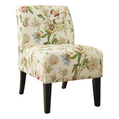 Acme Ollano Accent Chair, Floral Fabric