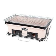 Fire Sense - Yakatori Charcoal Grill, Large, Rectangle - Outdoor Grills