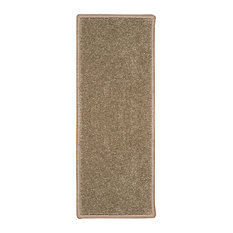 "Natural Area Rugs, Malvern Grey Stair Treads Carpet, 9"" X 29"" Set of 4"