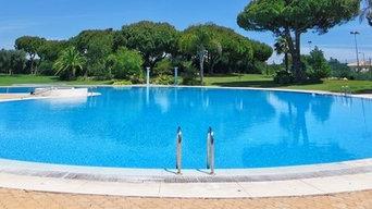 Sun Blue Pool Service's Work