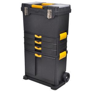 VidaXL Tool Case Chest Trolley Portable