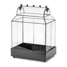 Plant Terrarium Glass Container, Wardian Case