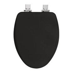 Black Toilet Seats Houzz - Black wooden toilet seat