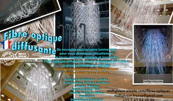 Innovation technologique de l'éclairage:tissus lumineux fibre optique diffusante