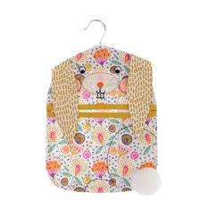 Rosy Rabbit Peg Bag