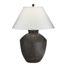 Pacific Coast Massa Table Lamp 64V99 - Black Terracotta