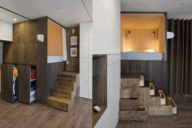 Modern Treppen by Studio Bazi