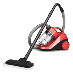 Costway Vacuum Cleaner Bagless Cord Rewind Carpet Hard Floor w Washable Filter