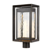 Urbandale LED Outdoor Post Lantern by Feiss OL13707ANBZ-L1