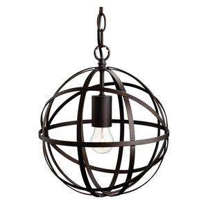 Castle Single Light Pendant