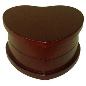 Novica African Heart Wood Jewelry Box Traditional Jewelry Boxes And Organizers By Novica