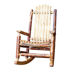 Superior Montana Woodworks   Montana Woodworks Adult Log Rocking Chair In Glacier  Country   Rocking Chairs Pictures Gallery