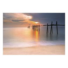 """Sunset"" Print on Canvas, 270x300 cm"