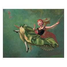 Disney Fine Art Art Imitates Art by Jim Salvati, Gallery Wrapped Giclee
