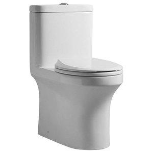 Apollo Argos One Piece Round Toilet AT-002-WH