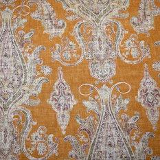 Fair Trade Cognac Kaufmann Fabric, By the Continuous Yard