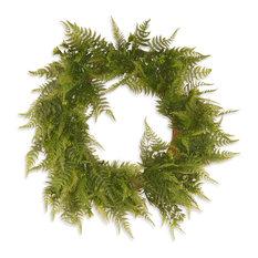 """22"""" Garden Accents Boston Fern Wreath"""