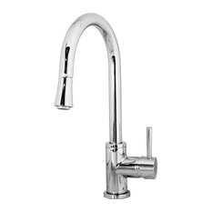 Avant Styles LLC - Sedna 1003 Single Hole Polished Chrome Kitchen Faucet - Kitchen Faucets