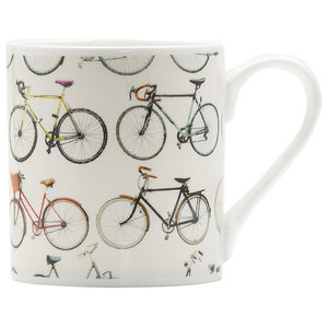 """Bikes of Hackney"" China Mug"