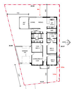 Floorplan For East Facing Trapezoid Shaped Block Houzz Au
