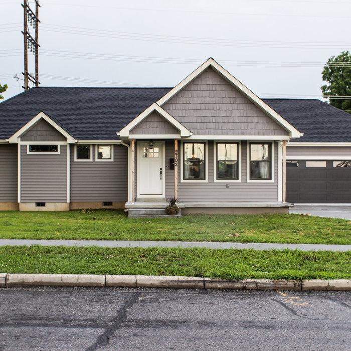 Sara's Modern Home-exterior