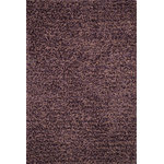 """Loloi - Loloi Rug, Plum, 5'x7'6"""" - From the very first step, your feet will relax into the plushness of Olin Shag. Hand tufted in India, Olin Shag bundles thick twisted yarns together, giving this shag an impressive and durable texture. What's more, these polyester yarns receive varied gradations in color achieved through a space-dyeing technique. This gives Olin Shag the right selection of colors that are so lush, they rival high end wool rugs.?"""