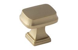 "Amerock Knob Revitalize 1-1/4"" Gold Champagne"