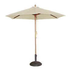Cafe Parasol Sunshade Outdoor, Cream