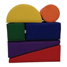 Factory Direct Partners SoftScape Toddler Foam Play Builder Block Set, 12-Piece