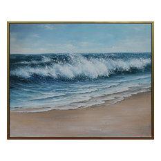 Art Painting, Blue/White