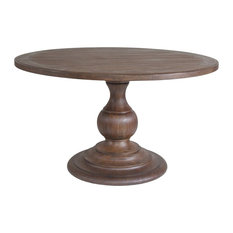 Artistica Home Axiom Round Dining Table, Marrone