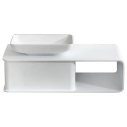 Contemporary Bathroom Vanities And Sink Consoles by inFurniture Inc.,