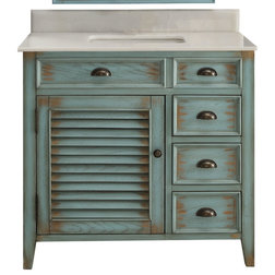 Farmhouse Bathroom Vanities And Sink Consoles by Chans Furniture Showroom